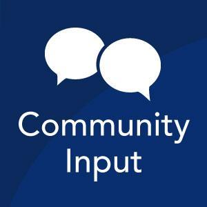 Community input icon