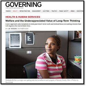 Workforce Solutions program featured in GOVERNING magazine